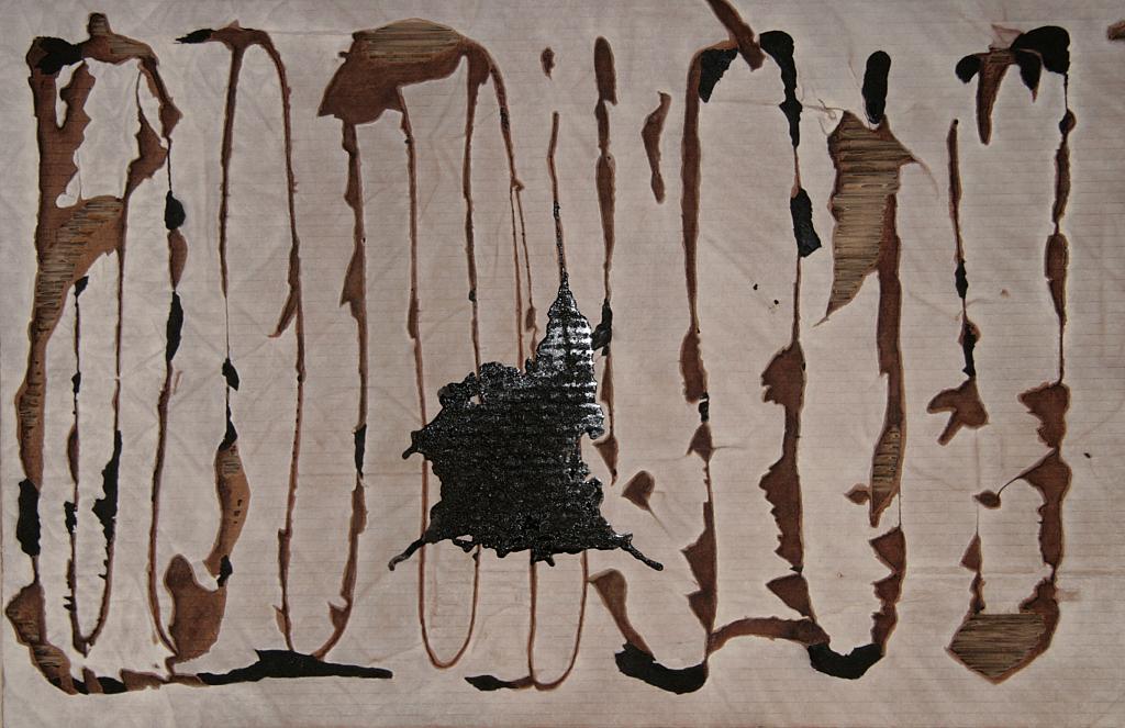 la parola scavata - daniele rallo - mista - 500 €