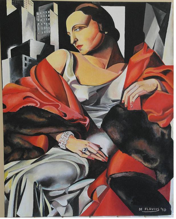 Ritratto di Madame Boucard - Michele De Flaviis - Olio - 400 €