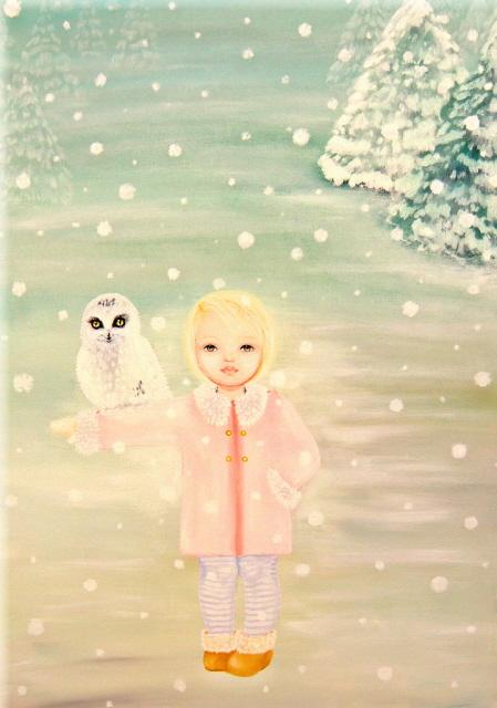 Inverno - Monica Bedini - Acrilico