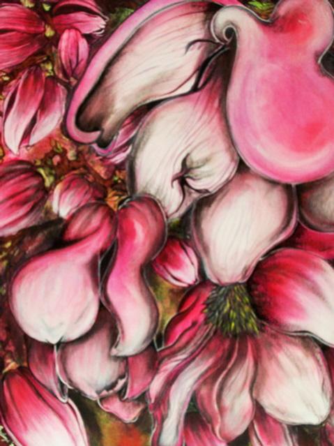 Primavera - Monica Bedini - Acrilico