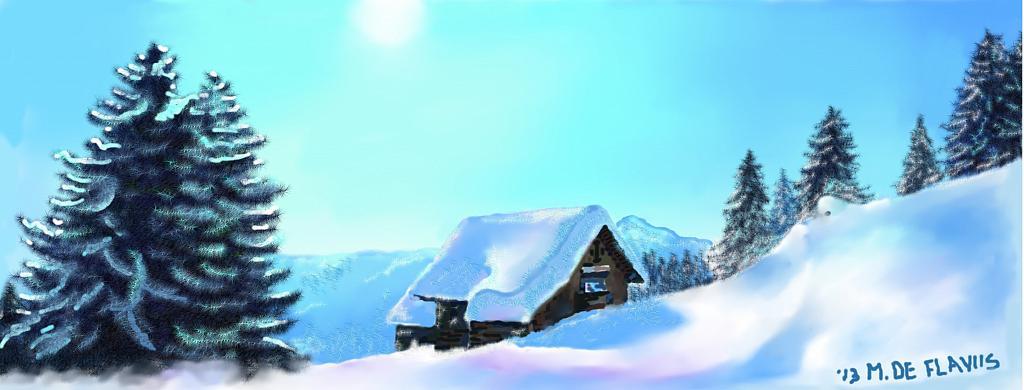 Neve! - Michele De Flaviis - Digital Art