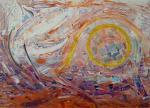 Omaggio a Janis Joplin - Summertime - Volo di gabbiano - Girolamo Peralta - olio e acrilico - 500€