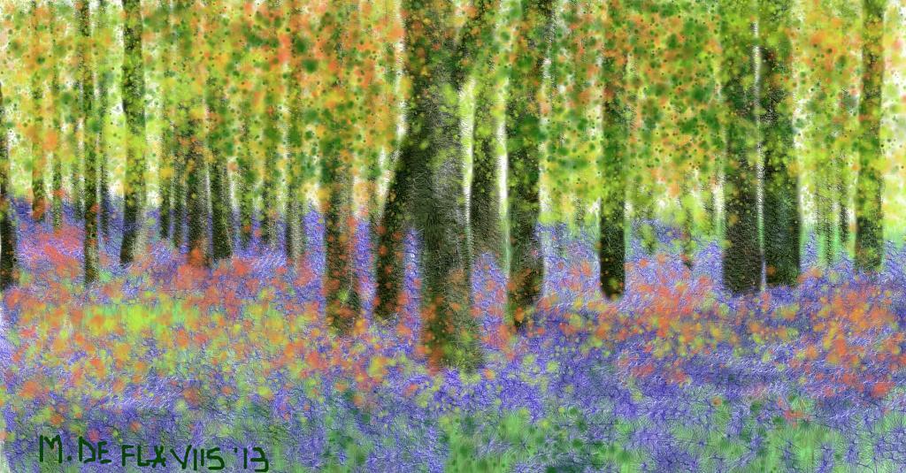 Un'esplosione di colori e stagioni - Michele De Flaviis - Digital Art