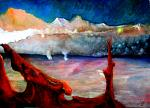 paesaggi dell'inconscio - daniele rallo - Olio - 150 €