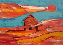 La casa del serpente - Girolamo Peralta - Olio - 170€