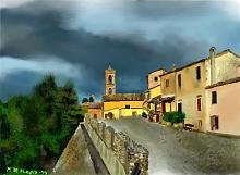 Scorcio Maiolati-Spontini - Michele De Flaviis - Digital Art