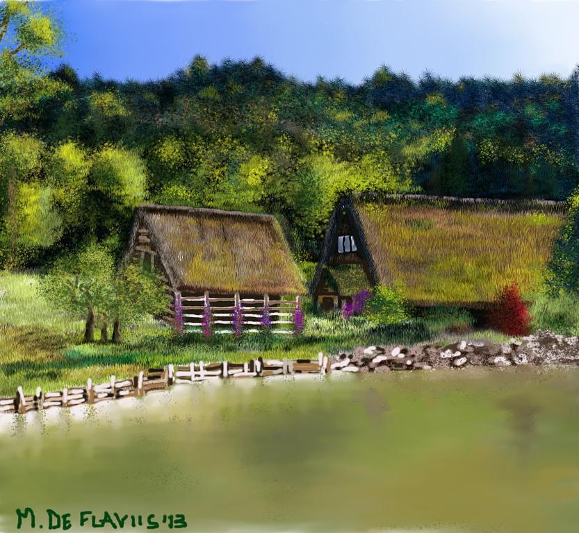 laghetto di montagna - Michele De Flaviis - Digital Art