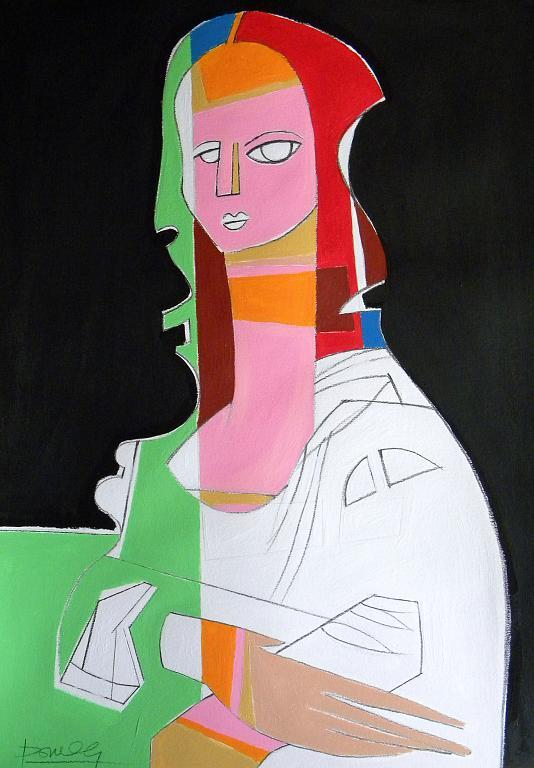 Ritratto di Monna Lisa - Gabriele Donelli - Acrilico - 900 €