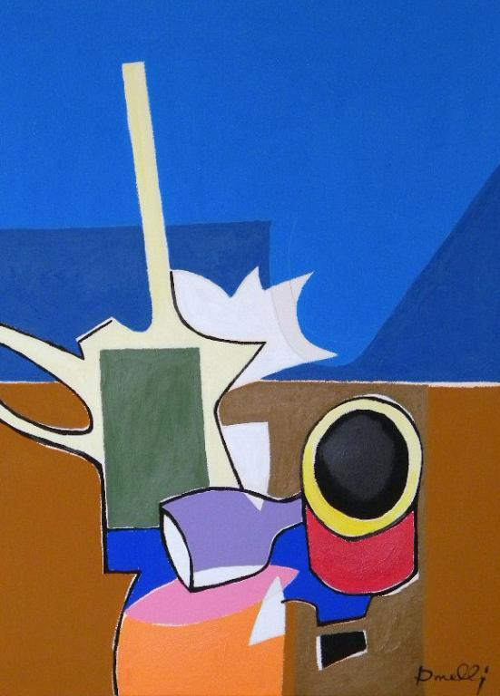 Composizione metafisica - Gabriele Donelli - Acrilico - 400 €