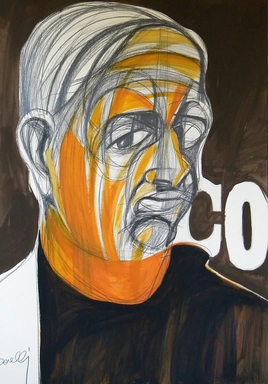 Ritratto di Giorgio de Chirico  - Gabriele Donelli - Acrilico - 1200 €