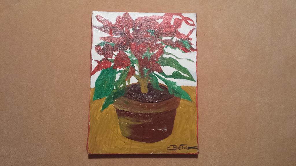 il fiore della speranza - Carlo Bertani - Betrix - Acrilico