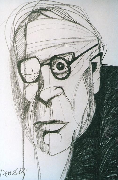 Ritratto di Giorgio Morandi - Gabriele Donelli - Matita - 900 €