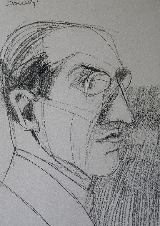 Ritratto di Piet Mondrian - Gabriele Donelli - Matita - 1300 €