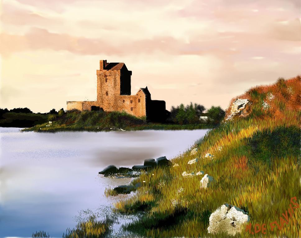 Paesaggio irlandese - Michele De Flaviis - Digital Art - 100 €