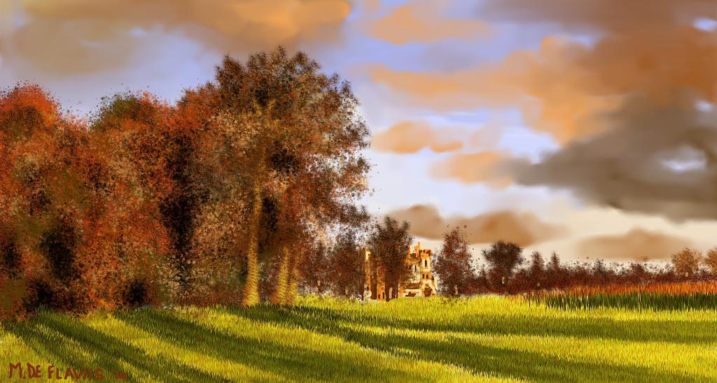 Castello irlandese - Michele De Flaviis - Digital Art - 100 €