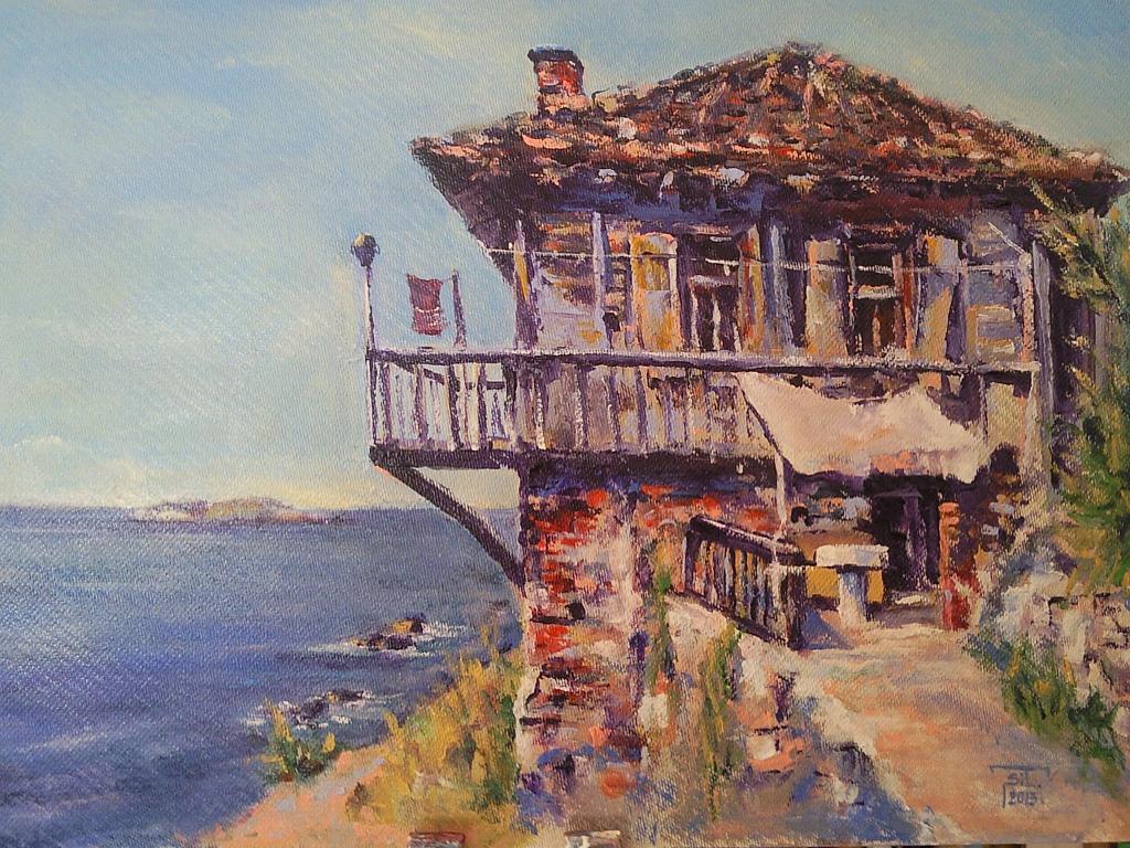 Casa Ksantana - Silvia Tschauschev - Acrilico - 300 €