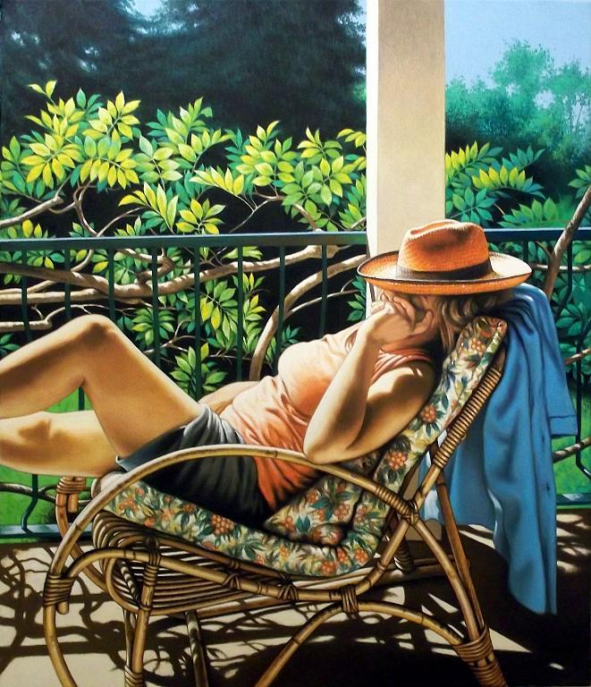 Grazia al sole (2) - Salvatore Ruggeri - Olio