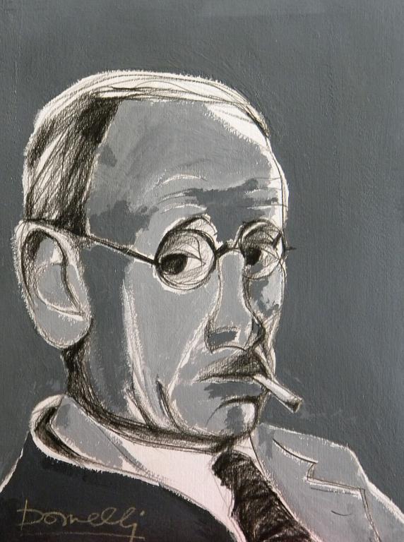 Ritratto di Pierre Bonnard - Gabriele Donelli - Acrilico - 400 €