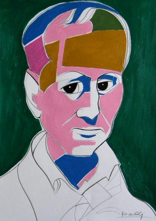 Ritratto di Charles Baudelaire - Gabriele Donelli - Acrilico - 300 €
