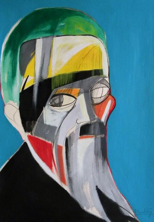 Ritratto di Michelangelo Buonarroti - Gabriele Donelli - Acrilico - 400 €