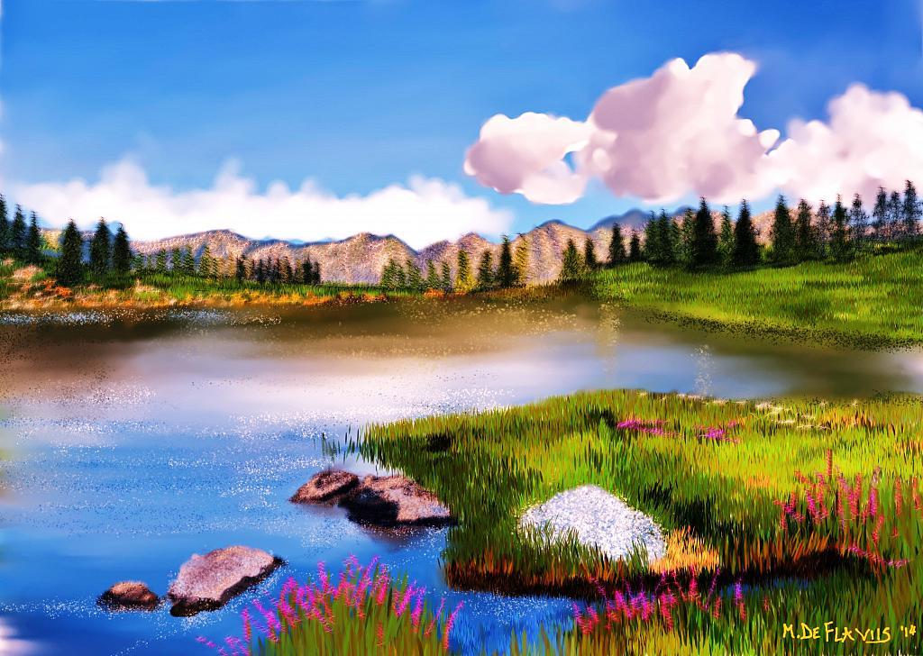 Montagne d'Abruzzo - Michele De Flaviis - Digital Art