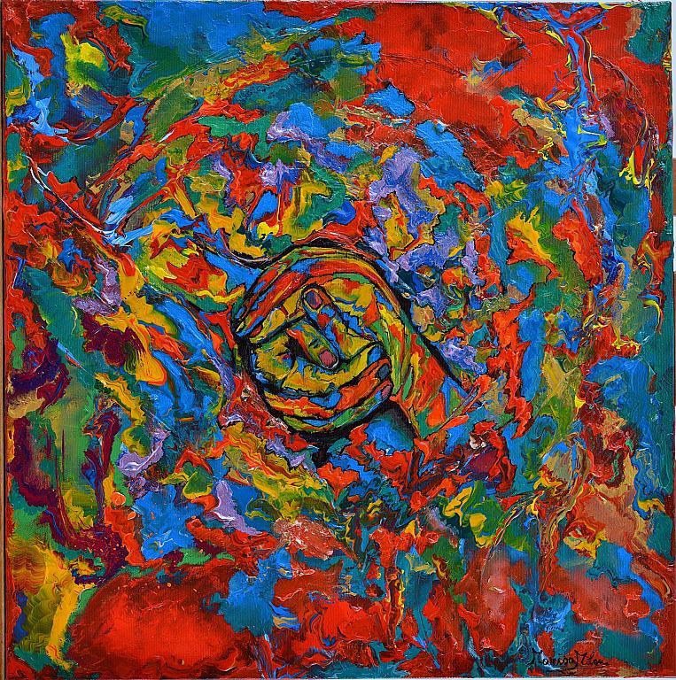 """"""" I Colori della Pace"""" - Marisa Milan - Olio"""
