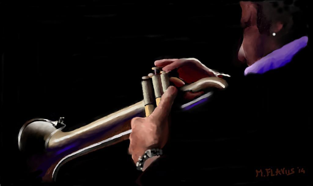 Il Jazzista - Michele De Flaviis - Digital Art