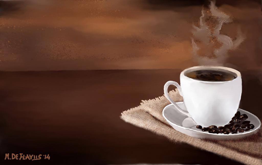 Pausa caffè - Michele De Flaviis - Digital Art