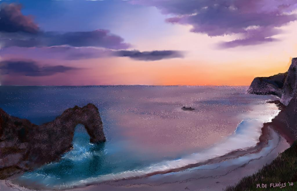 Scoglio del drago - Michele De Flaviis - Digital Art