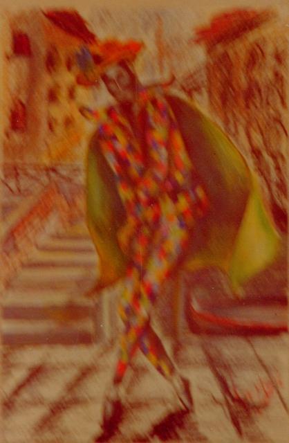 arlecchino - daniele Rallo  - Pastelli -  €