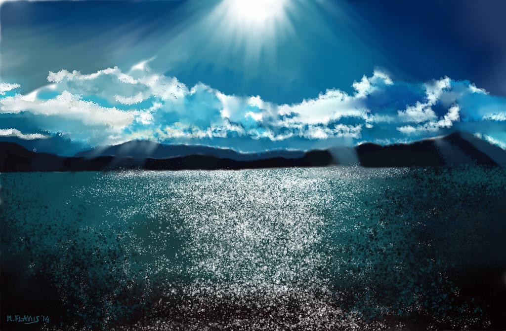 Raggi di sole - Michele De Flaviis - Digital Art