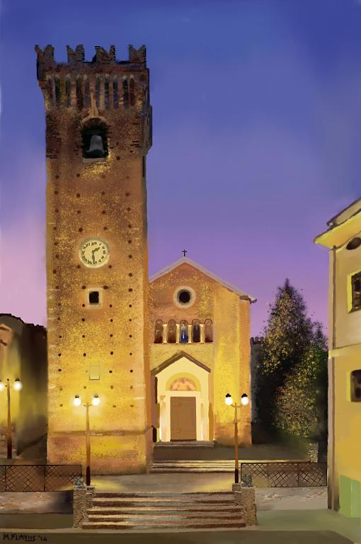 Torre Acquaviva XIV sec. Mosciano S.A.(TE) - Michele De Flaviis - Digital Art