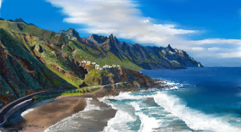 Tenerife - Michele De Flaviis - Digital Art