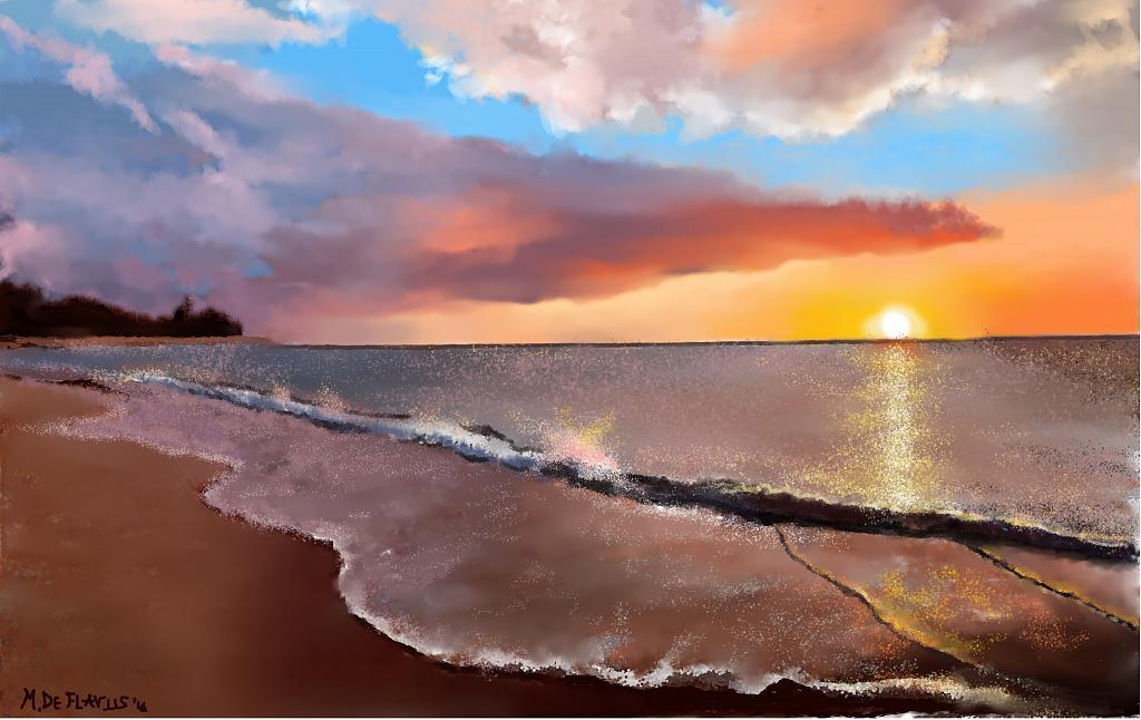 """""""Zanzibar"""" 2 - Michele De Flaviis - Digital Art"""