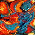 Frammenti di colore 1 - Marisa Milan - Olio