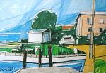 Veduta sul lago d'Iseo - Gabriele Donelli - Pastelli - 300€