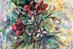 Composizione Floreale - tiziana marra - tecnica mista