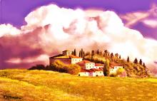 Borgo toscano - Michele De Flaviis - Digital Art