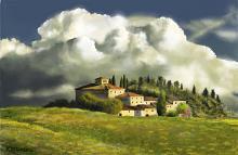 Borgo toscano2 - Michele De Flaviis - Digital Art