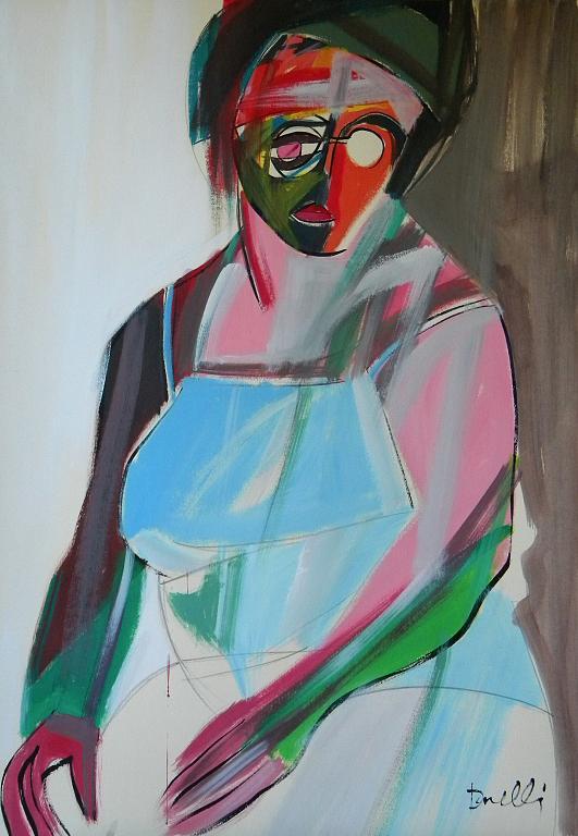Ritratto di Luana Ghidotti - Gabriele Donelli - Acrilico - 900 €