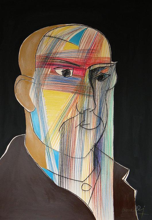 Ritratto di Vincent Van Gogh - Gabriele Donelli - Pastello e acrilico - 400 €