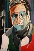 Ritratto di Francis Bacon - Gabriele Donelli - Olio - 600€