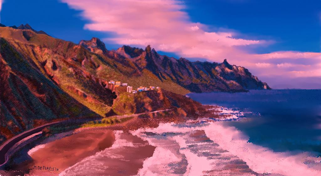 Tenerife2 - Michele De Flaviis - Digital Art