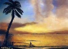 I pescatori - Michele De Flaviis - Digital Art