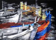 CROMIE SUL MARE - Paolo Benedetti - Acrilico - 300€