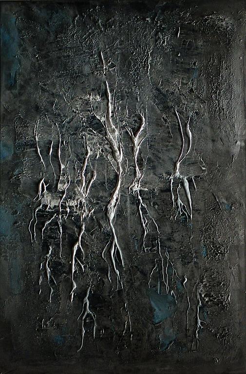 Alla ricerca di te - Massimo Di Stefano - Tecnica mista su tela - 900 €