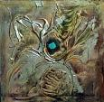 L'occhio della mente  - Massimo Di Stefano - Tecnica mista su legno - 250 €