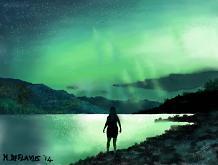 Aurora boreale - Michele De Flaviis - Digital Art