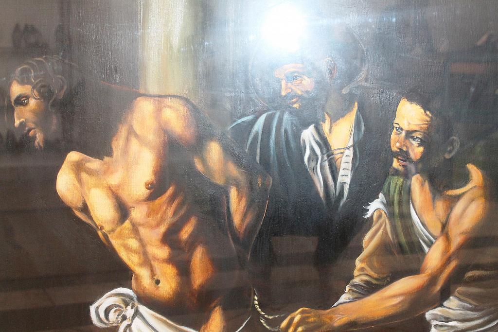 Caravaggio (riproduzione) - tiziana marra - Olio - 400,00 €