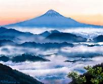 Monte Fuji - Michele De Flaviis - Digital Art